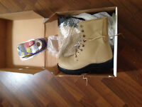 New steel toe work boots - size 12