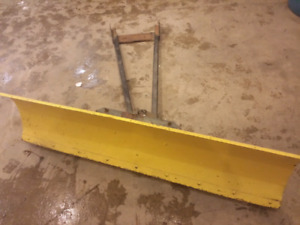 Plow for atv or side by side