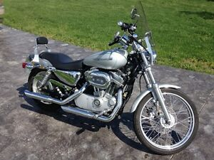 Harley with screamin' eagle upgrades