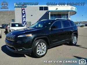 2014 Jeep Cherokee LIMITED  Sporty look and it's loaded! - $185.