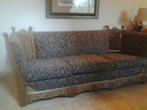 MOVING SALE! REDUCED Beautiful Early Canadian Antique Couch