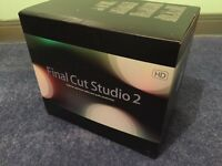 Final Cut Studio complete boxed