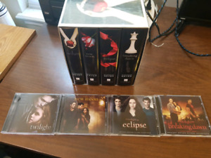 Twilight - Complete Book Series with Soundtrack