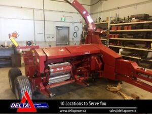 2008 CASE IH FHX300 PULL TYPE FORAGE HARVESTER AND
