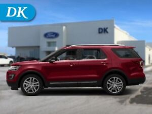 2017 Ford Explorer XLT 202A w/Leather, Moonroof, Nav, Sport Appe