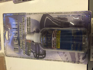 Bac-Chek athletic equipment deodorizer and disinfectant sport