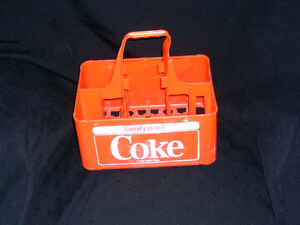 VINTAGE COCA COLA BOTTLE RETURN CARRIER