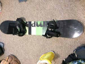Snowboarding stuff for sale! Board, boots, goggles, helmet!