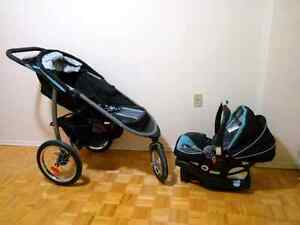 Graco Jogger stroller, with Car Seat, brand new.