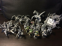 Warhammer 40K Chaos Marine Nurgle Units for SALE! (assembled)