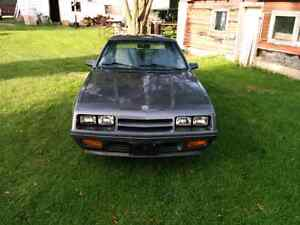 1986 Dodge charger Need Gone This Week London Ontario image 3