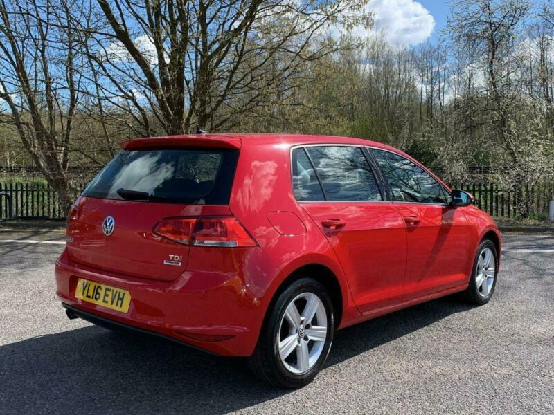 2016 Volkswagen Golf 1.6 TDI BlueMotion Tech Match Edition (s/s) 5dr Hatchback D