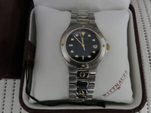 Gorgeous Swiss Wittnauer Stainless Steel Watch Like New With Box