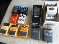 PEDALS, AMPS, GUITARS For Sale WEEKEND PRICE DROP!