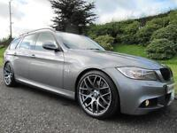 SOLD SOLD SOLD 2010 BMW 335d M-SPORT TOURING **AUTO**FULL BLACK LEATHER**