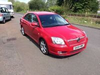 Toyota Avensis 1.8 VVT-i T4 5dr AUTOMATIC LOW MILES, Service History, 3x Keys