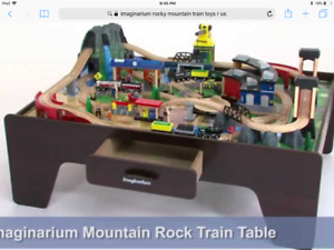 Imaginarium mountain rock train set