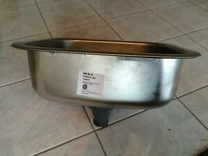 Brand new Ikea stainless, single kitchen sink