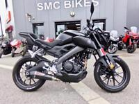 2018 Yamaha MT125 - NATIONWIDE DELIVERY AVAILABLE