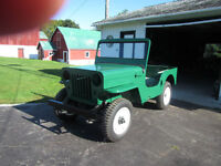 1961 Willys Jeep CJ3B For Sale