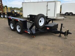 2015 Drop Deck Trailer with Winch
