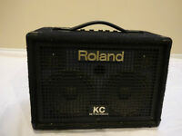 """Roland""  Stereo keyboard amplifier."