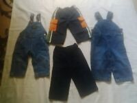12- 18 month baby boy overall and pants