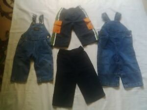 12- 18 month baby boy overall and pants Kitchener / Waterloo Kitchener Area image 1