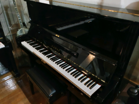 Kawai BL-51 special upright piano black polyester for sale