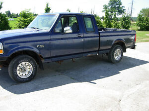PARTING OUT 1995 F150 4x4 Cambridge Kitchener Area image 1