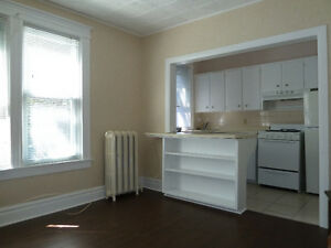One bedroom apartment for rent available March 1st.