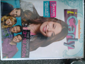 iCarly Season 3 and 4 (going to be sold at a garage sale soon)