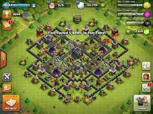 Clash of Clans Th 9 Lvl 103