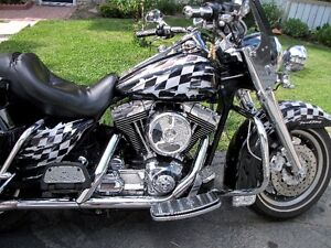 Custom Painted Harley Davidson Road King FLHR with many extras