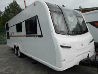 Bailey Unicorn Segovia Luxury Touring Caravan