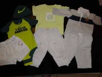 Baby Boy Bundle Of Designer Clothes Ralph Lauren Timberland Nike Size 6 Months