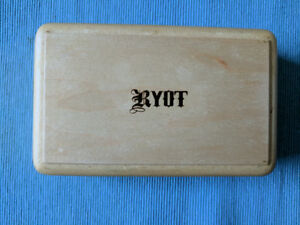 """RYOT Sifter Storage Box 3x5"""" *Natural Finish*"""