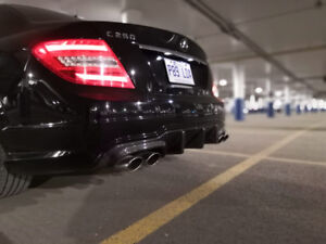 Mercedes Benz C Class sport package with AMG accenting!