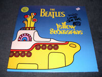 The Beatles - Yellow Submarine (1999) Vinyl jaune LP neuf