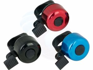 Flick One Touch Bike Bicycle Handlebar Bell Horn Safety