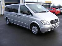 2006 MERCEDES BENZ VITO 2.1 111CDI Traveliner Extra Long Bus 5dr 9 Seats