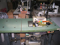 RIMOLDO - ORION OVERLOCK SEWING MACHINE IN EXCELLENT CONDITION