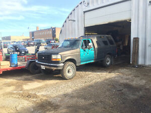 1992 Ford F-250 4X4 Parts