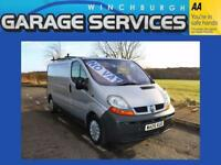 RENAULT TRAFIC GREAT CONDITION **NO VAT** WOOD LINED