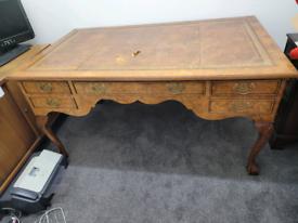 Large desk antique