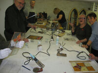 Learn how to make stained glass