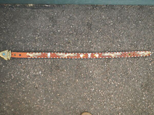 Ornate belt