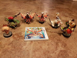 Monster Hunter Stories and amiibo
