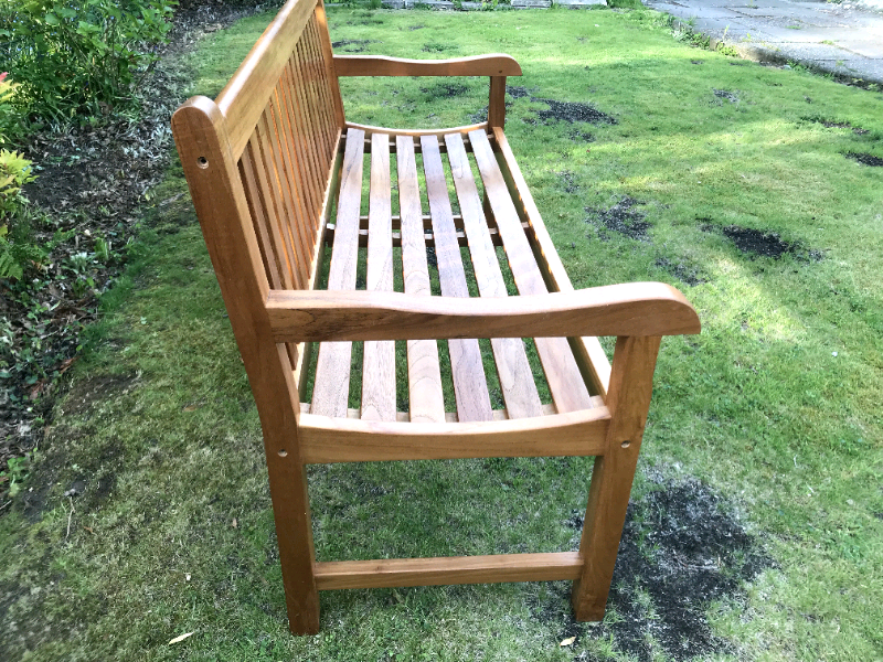 Teak Garden Bench, Grade A Teak best in the uk LAST FEW ...