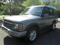 04/04 LAND ROVER DISCOVERY TD5 PURSUIT 4X4 IN MET GREEN